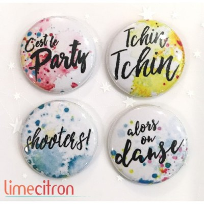 Lime Citron - badge 211«Party»