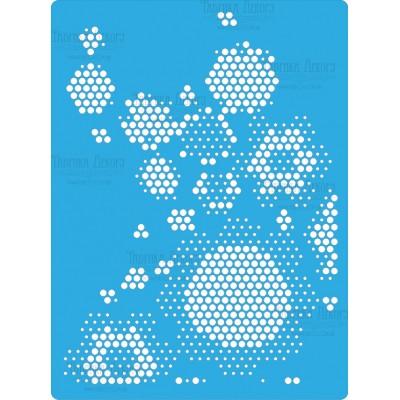 Fabrika Decoru - Stencil «Hive»