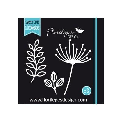 Florilèges Design - Outils De Découpe «Nature Fine» 3 pièces