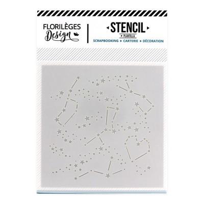 Florilèges Design - Pochoir modèle «Constellation»