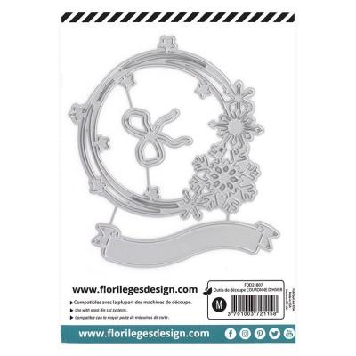 Florilèges Design - Outils De Découpe «Couronne d'hiver » 3 pièces