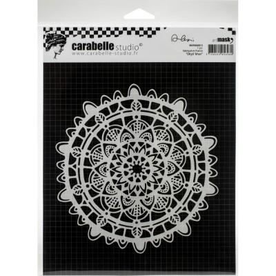 "Carabelle - Stencil «Dkyil'khor» 6"" X 6"""