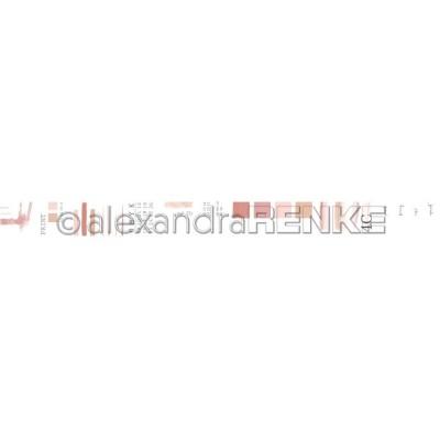 Alexandra Renke - Washi Tape couleur «Coral Pink» 10m