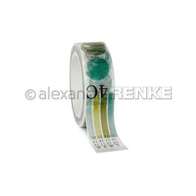 Alexandra Renke - Washi Tape couleur «Lime Green» 10m