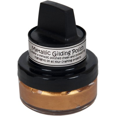 Cosmic Shimmer Metallic Gilding Polish - Pâte lisse métallique «Copper Shine» 50ml