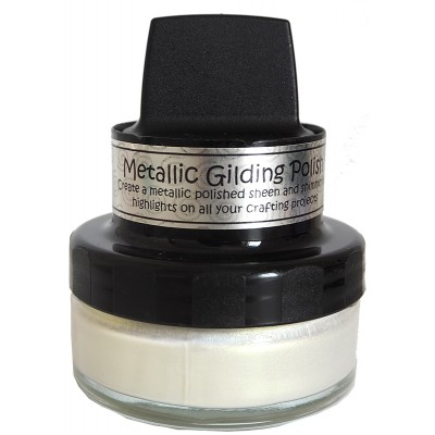 Cosmic Shimmer Metallic Gilding Polish - Pâte lisse métallique «Enchanted Gold» 50ml