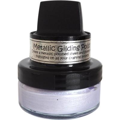 Cosmic Shimmer Metallic Gilding Polish - Pâte lisse métallique «Heather» 50ml