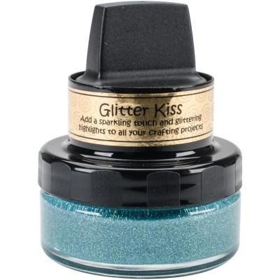 Cosmic Shimmer Glitter Kiss - Pâte brillante «Ice Blue » 50ml