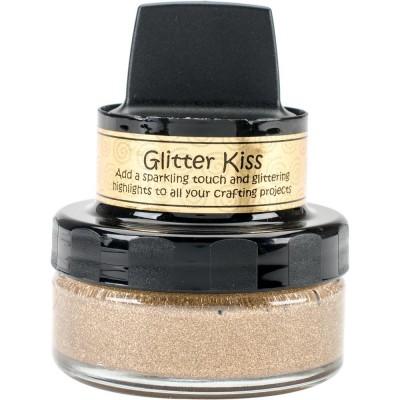 Cosmic Shimmer Glitter Kiss - Pâte brillante «Sahara Gold » 50ml
