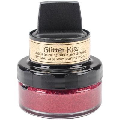 Cosmic Shimmer Glitter Kiss - Pâte brillante «Fire Red» 50ml