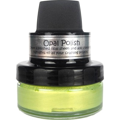 Cosmic Opal Polish - Pâte lisse lustrée «Yellow Limes» 50ml