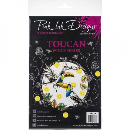 Pink Ink Designs - Ensemble «Toucan» collection «Wings Series»   9 pièces