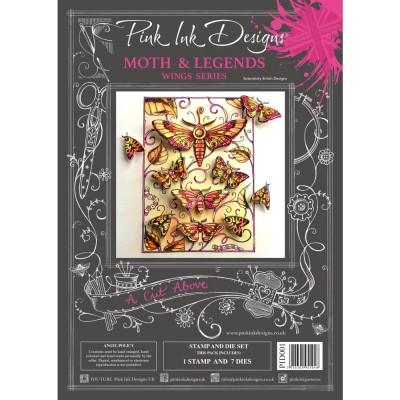 PRÉCOMMANDE- Pink Ink Designs - Ensemble «Moth & Legends» collection «Creative Expressions»
