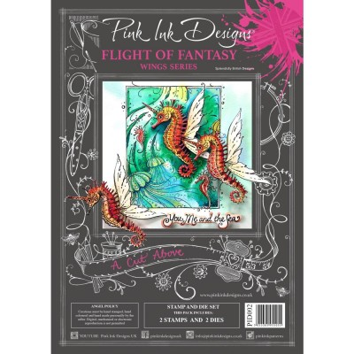 PRÉCOMMANDE- Pink Ink Designs - Ensemble «Flight Of Fantasy» collection «Creative Expressions»