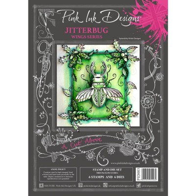 PRÉCOMMANDE- Pink Ink Designs - Ensemble «Jitterbug» collection «Creative Expressions»