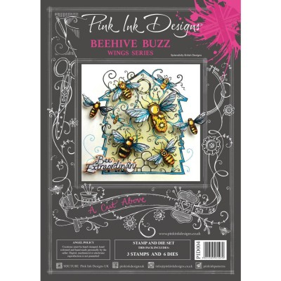 PRÉCOMMANDE- Pink Ink Designs - Ensemble «Beehive Buzz» collection «Creative Expressions»