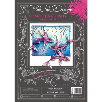 PRÉCOMMANDE- Pink Ink Designs - Ensemble «Something Fishy» collection «Creative Expressions»