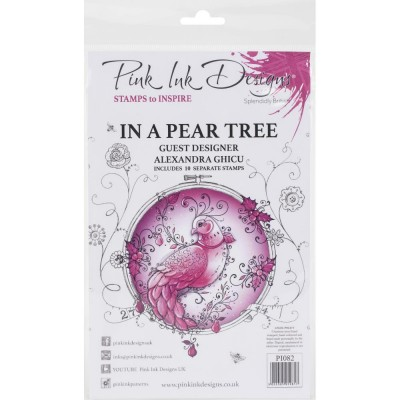 Pink Ink Designs - Ensemble «In A Pear Tree» 10 pièces
