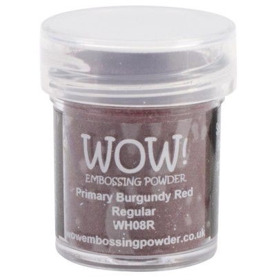 WOW! Poudre à embosser 15ml «Burgundy Red»