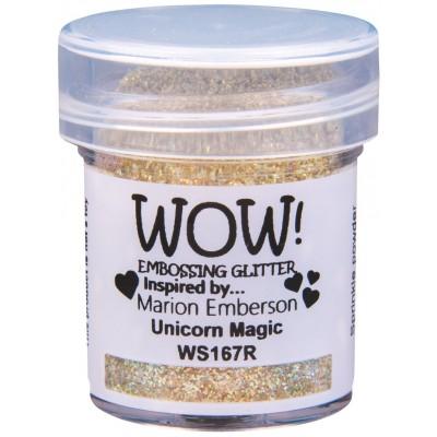 WOW! Poudre à embosser 15ml «Unicorn Magic»