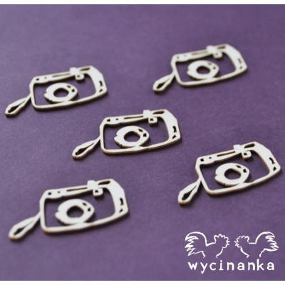 Wycinanka - appareils photos Vintage office paquet de 5