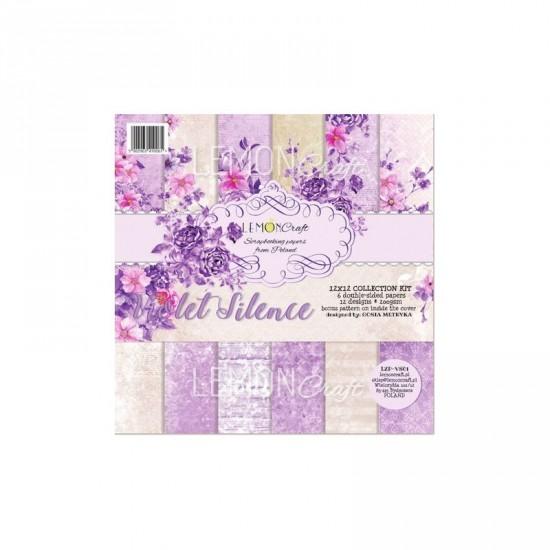 """Lemoncraft - """"Violet Silence"""" ensemble de papier  6 feuilles 12"""" X 12"""""""