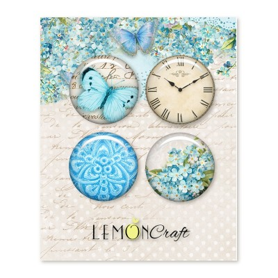 Lemoncraft - Badges «Forget me Not»