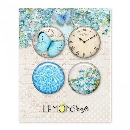 Lemoncraft - Badges «Forget me Not»