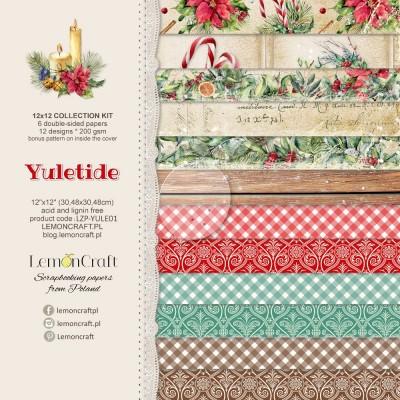 """Lemoncraft - """"Yuletide"""" ensemble de papier  6 feuilles 12"""" X 12"""""""