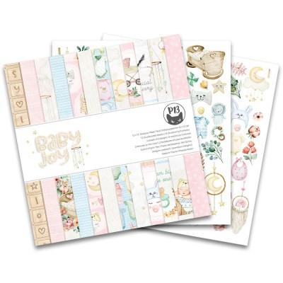"""P13 - Bloc de papier «Baby Joy» 12"""" X 12"""" 12 pages"""