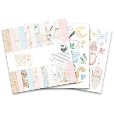 """P13 - Bloc de papier «Baby Joy» 6"""" X 6"""" 24 pages"""