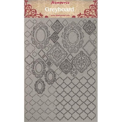 "Stamperia - Chipboard «Wallpaper» 8"" x 12"""