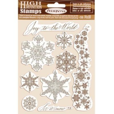 Stamperia - Estampes «Winter Tales Snowflakes», 9 pcs