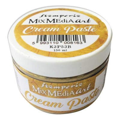 Stamperia - Metallic Cream Paste couleur «Gold» 150 ml