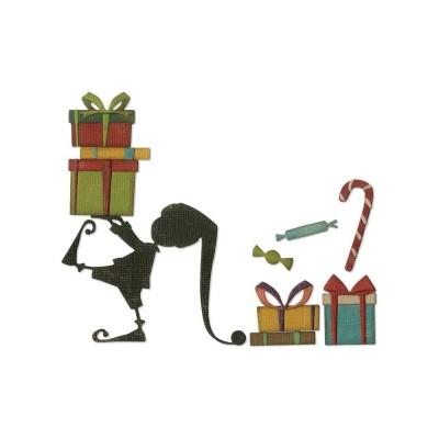 Tim Holtz Sizzix - «Santa's Helper» 11 pièces