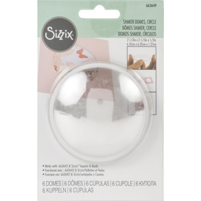 Sizzix - «Shaker Domes» 2.5""