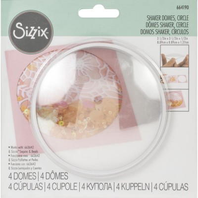 Sizzix - «Shaker Domes» 3.5""