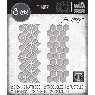 Sizzix - Thinlits Dies de Tim Holtz «Pattern Repeat»