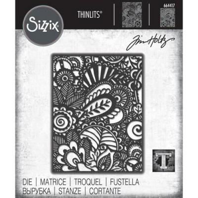 Sizzix - Thinlits Dies de Tim Holtz «Doodle Art #2»