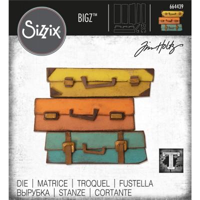 Sizzix - Bigz Die de Tim Holtz «Baggage Claim»