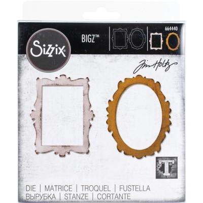 Sizzix - Bigz Die de Tim Holtz «Decor Frames» 2 pcs