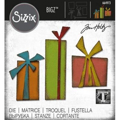 Sizzix - Bigz Die de Tim Holtz «Gift Wrap» 6 pcs