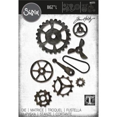 Sizzix - Bigz L Die de Tim Holtz «Mechanical»