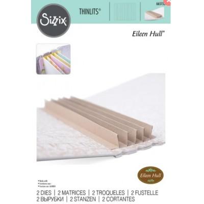 Sizzix - Thinlits Dies «Bookbinding & Label» 2 pcs