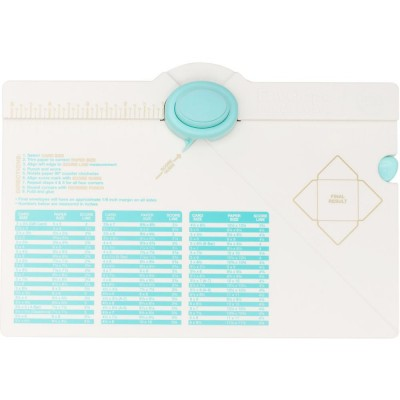 WE R MEMORY KEEPERS -  «Envelope Punch Board»