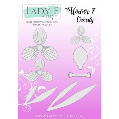 Lady E Design - Dies «Flower Crocus 7» 7 pcs