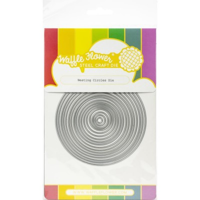 Waffle Flower - Dies «Nesting Circles» 17 pcs