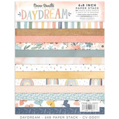 """Cocoa Vanilla Studio - Ensemble de papier «Daydream» 6""""X8"""" recto 30 feuilles / Pqt"""