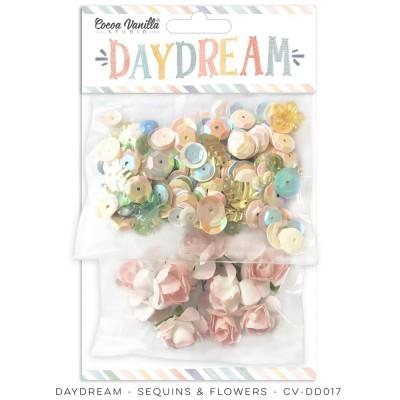 Cocoa Vanilla - Ensemble fleurs et séquins  «Daydream»