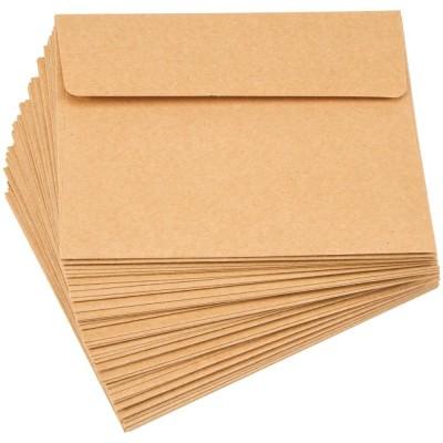 """Darice - Enveloppes A2 Kraft 4"""" 3/8 X 5"""" 3/4  paquet de 50"""